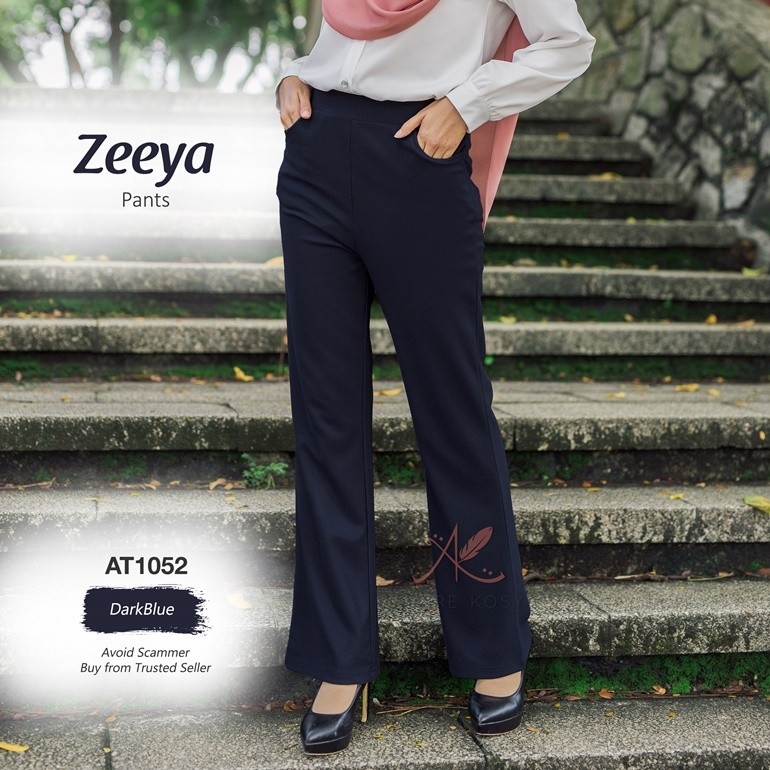 Zeeya Pants AT1052 (DarkBlue)