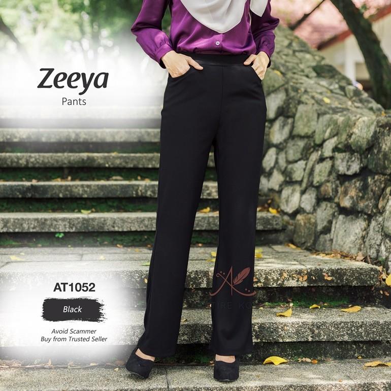 Zeeya Pants AT1052 (Black)