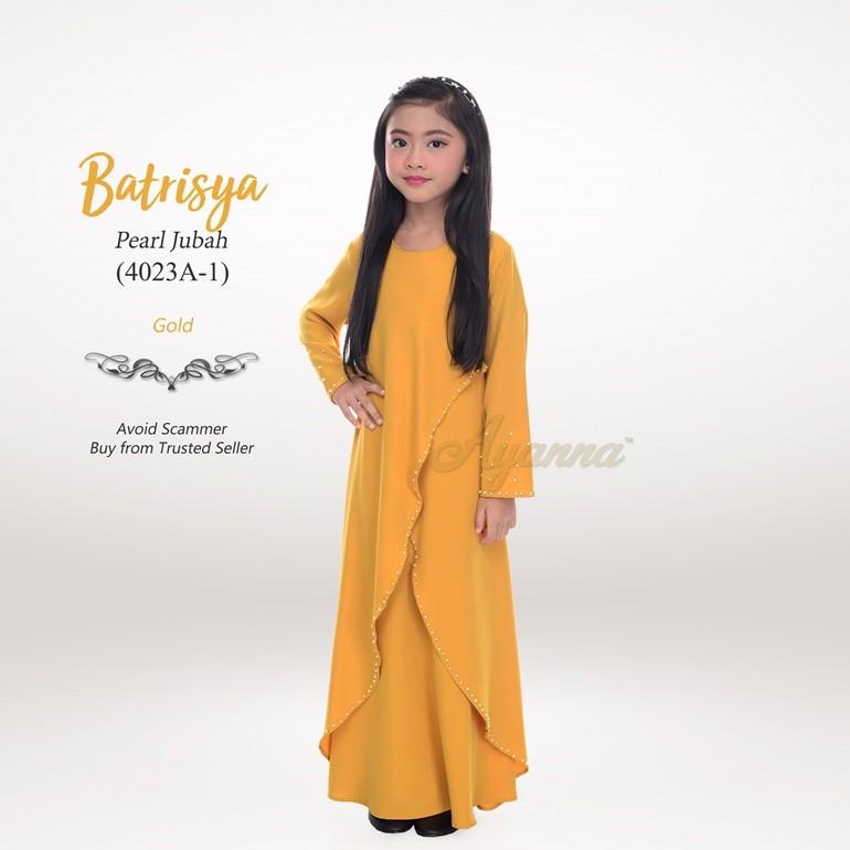 Batrisya Pearl Jubah 4023A-1 (Gold)