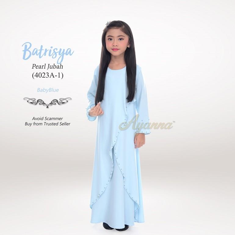 Batrisya Pearl Jubah 4023A-1 (BabyBlue)