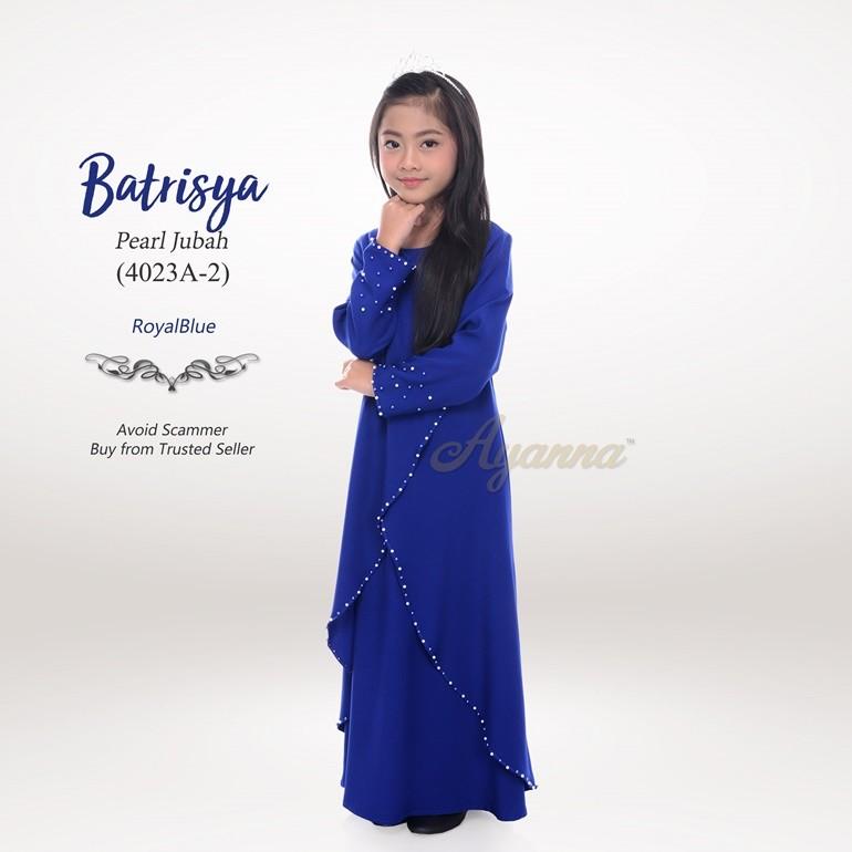 Batrisya Pearl Jubah 4023A-2 (RoyalBlue)