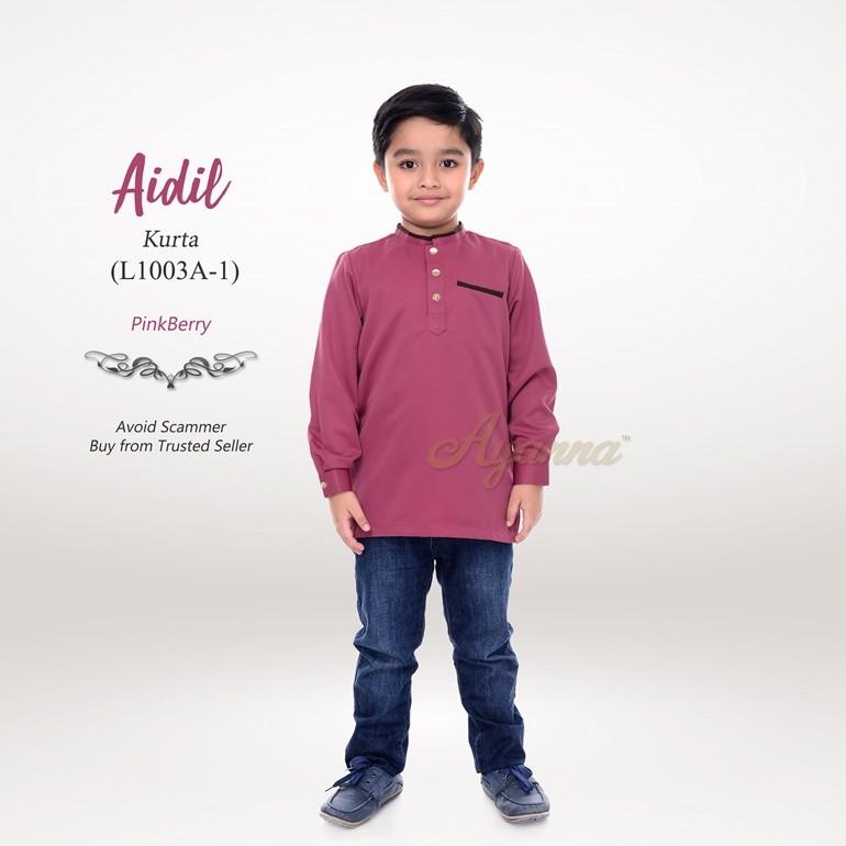 Aidil Kurta L1003A-1 (PinkBerry)