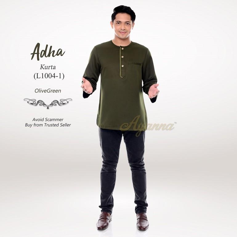 Adha Kurta L1004-1 (OliveGreen)