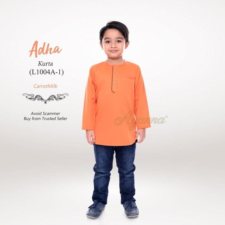 Adha Kurta L1004A-1 (CarrotMilk)