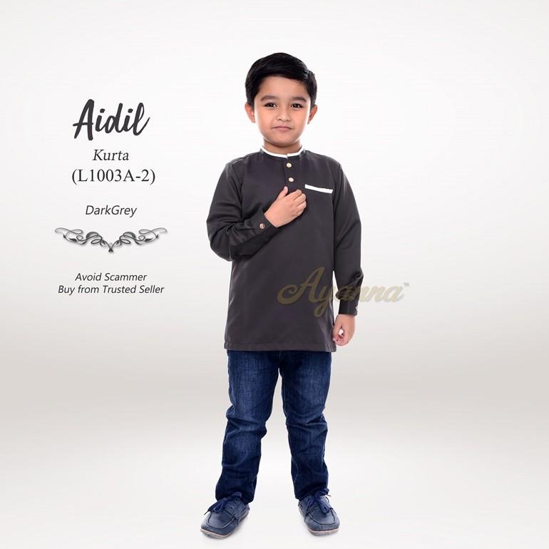 Aidil Kurta L1003A-2 (DarkGrey)