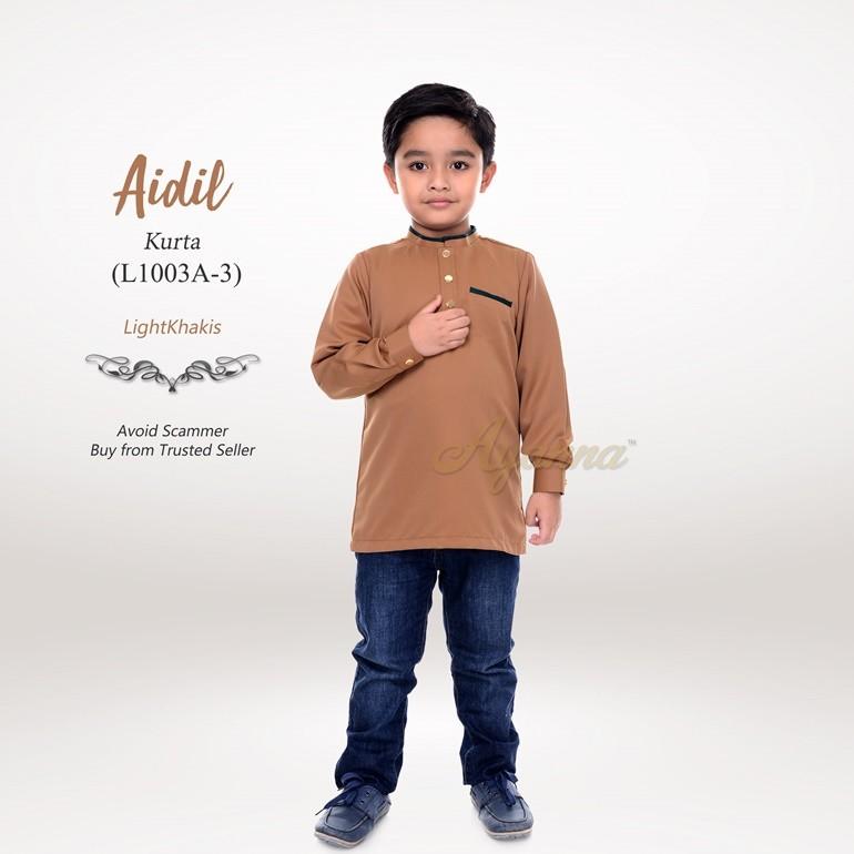 Aidil Kurta L1003A-3 (LightKhakis)