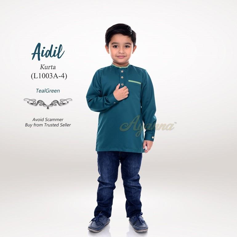 Aidil Kurta L1003A-4 (TealGreen)