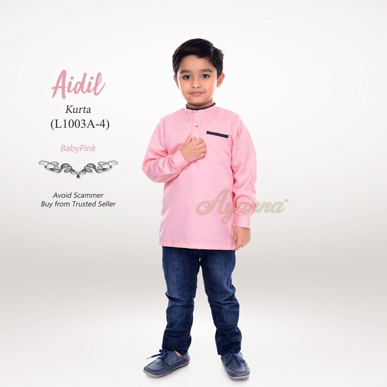 Aidil Kurta L1003A-4 (BabyPink)