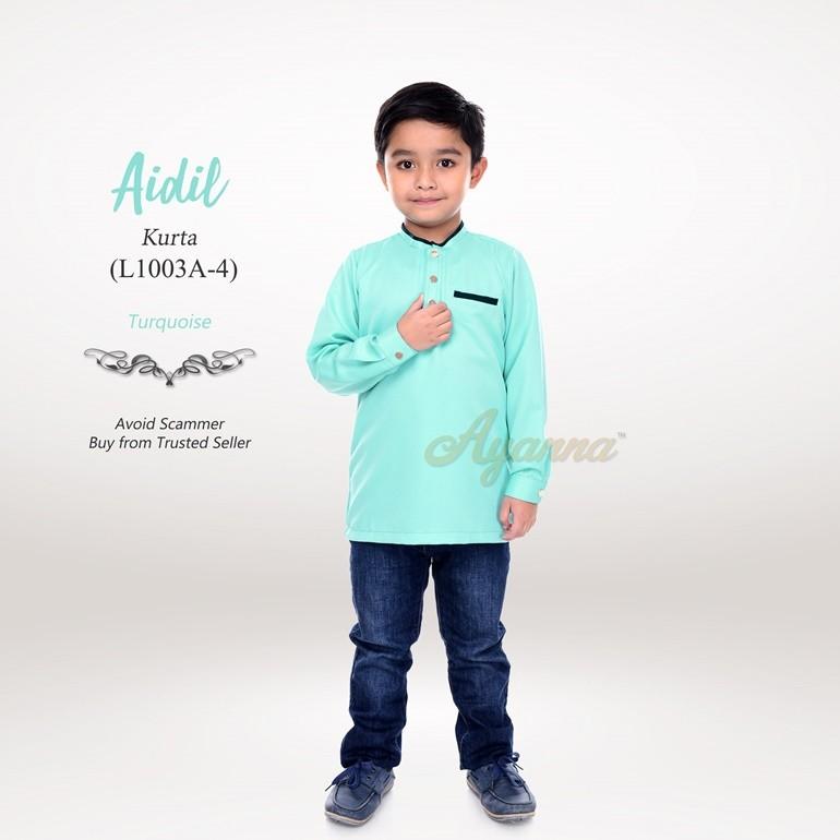 Aidil Kurta L1003A-4 (Turquoise)