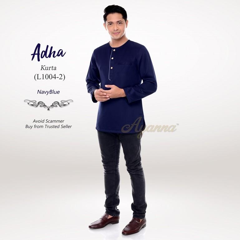 Adha Kurta L1004-2 (NavyBlue)