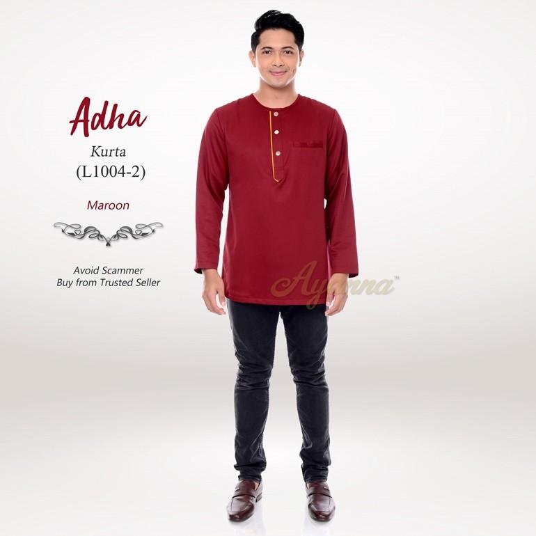 Adha Kurta L1004-2 (Maroon)