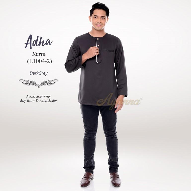 Adha Kurta L1004-2 (DarkGrey)