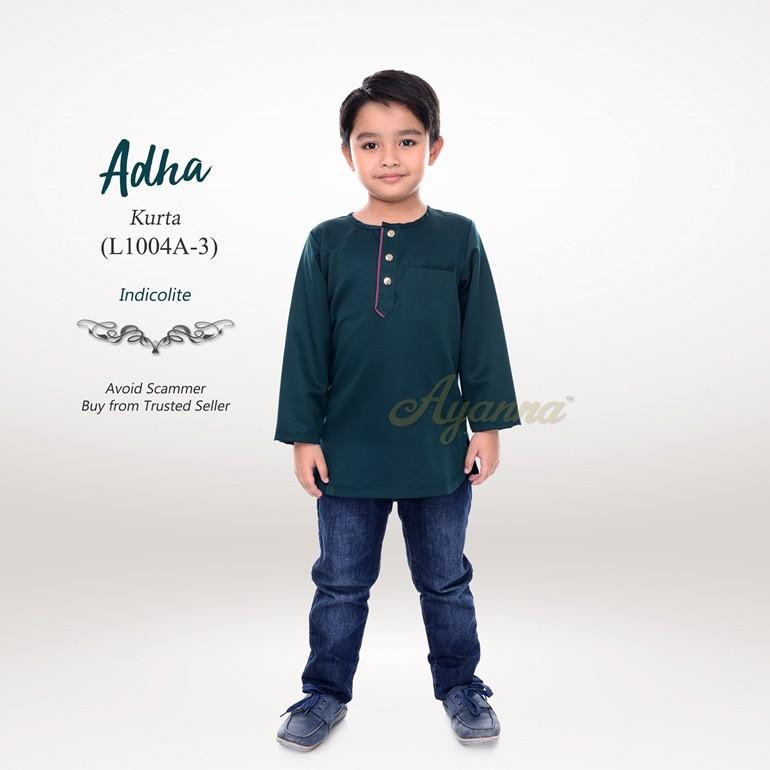Adha Kurta L1004A-3 (Indicolite)