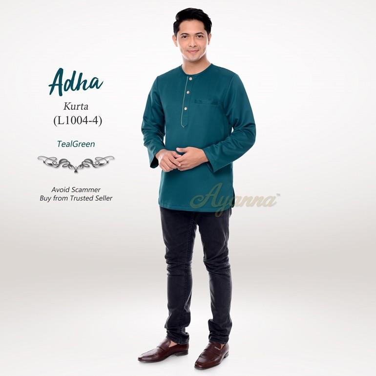 Adha Kurta L1004-4 (TealGreen)