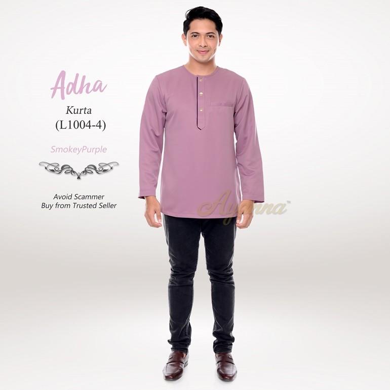 Adha Kurta L1004-4 (SmokeyPurple)