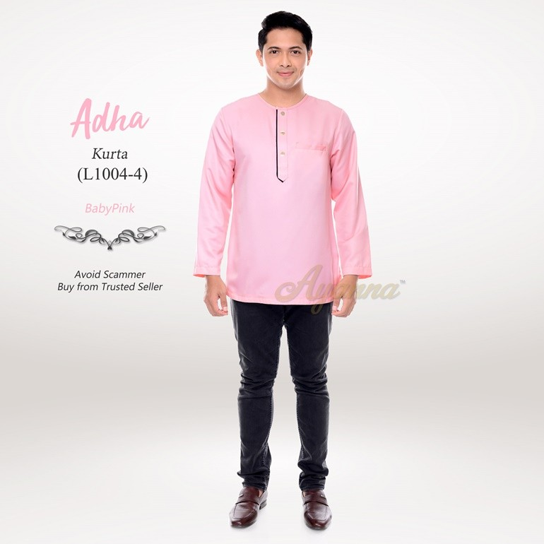 Adha Kurta L1004-4 (BabyPink)