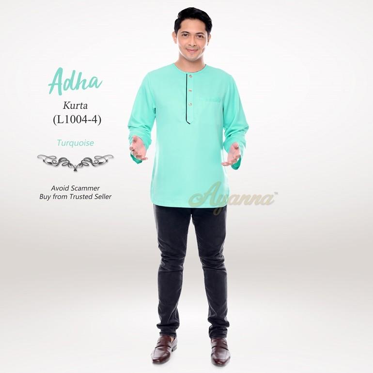 Adha Kurta L1004-4 (Turquoise)