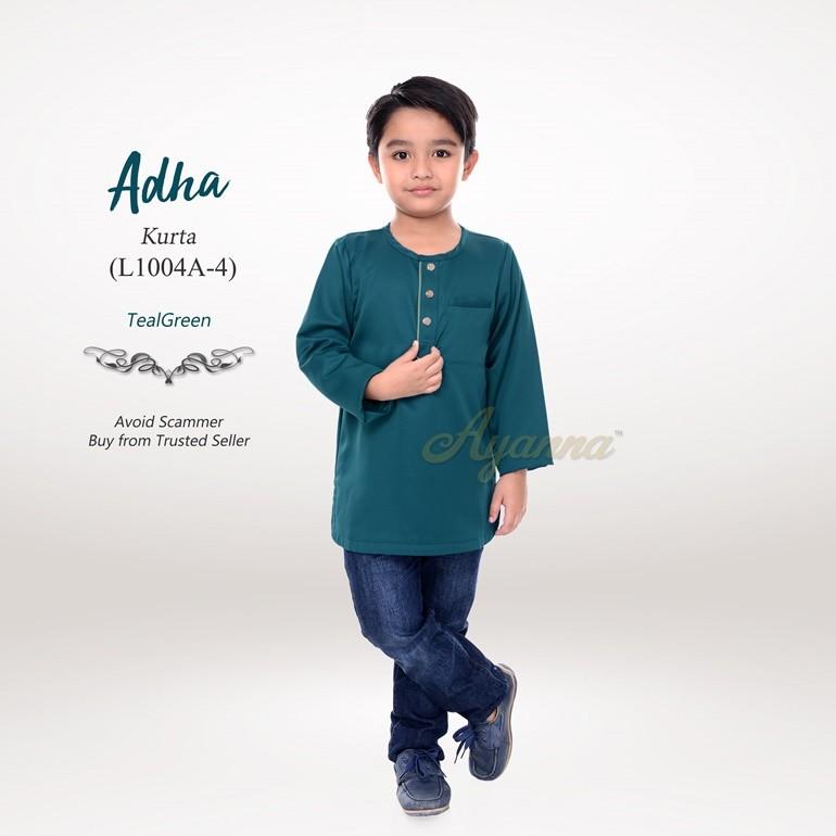 Adha Kurta L1004A-4 (TealGreen)