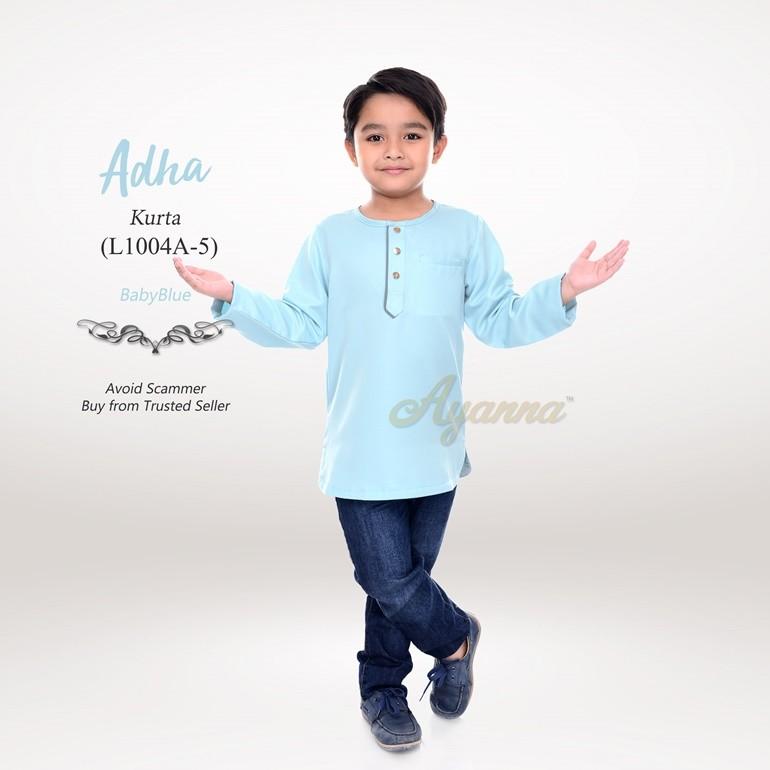 Adha Kurta L1004A-5 (BabyBlue)