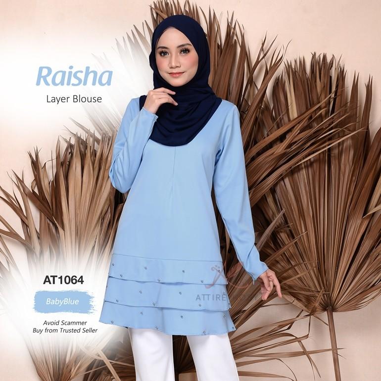 Raisha Layer Blouse AT1064 (BabyBlue)