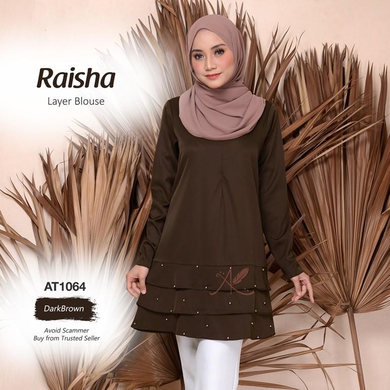 Raisha Layer Blouse AT1064 (DarkBrown)