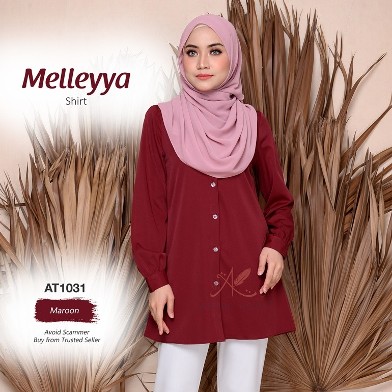 Melleyya Shirt AT1031 (Maroon)