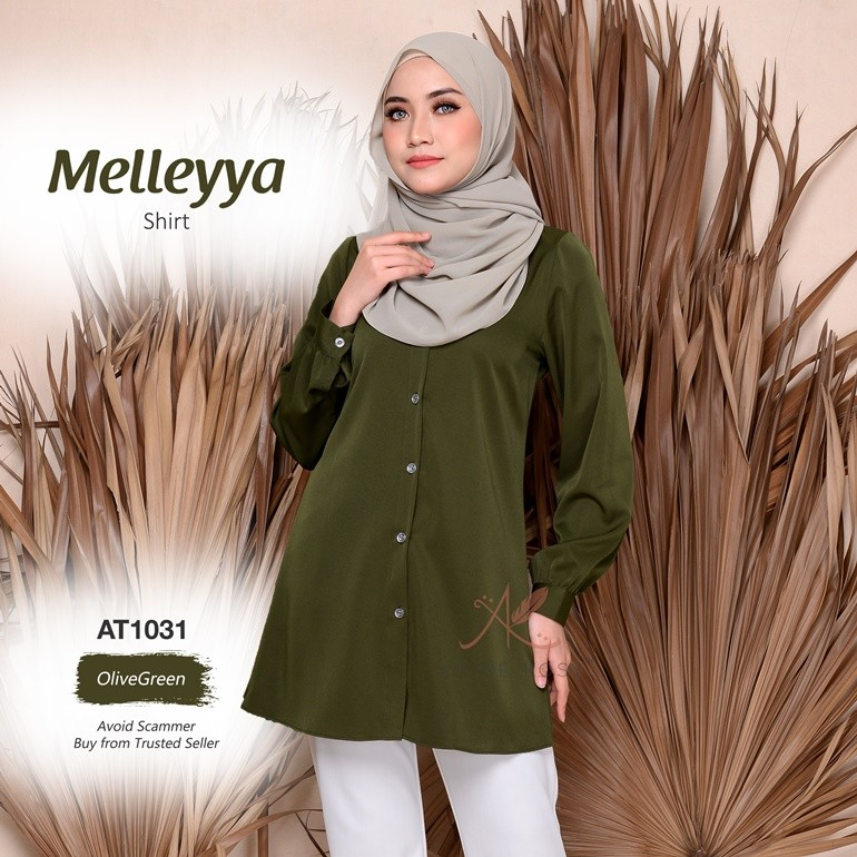 Melleyya Shirt AT1031 (OliveGreen)