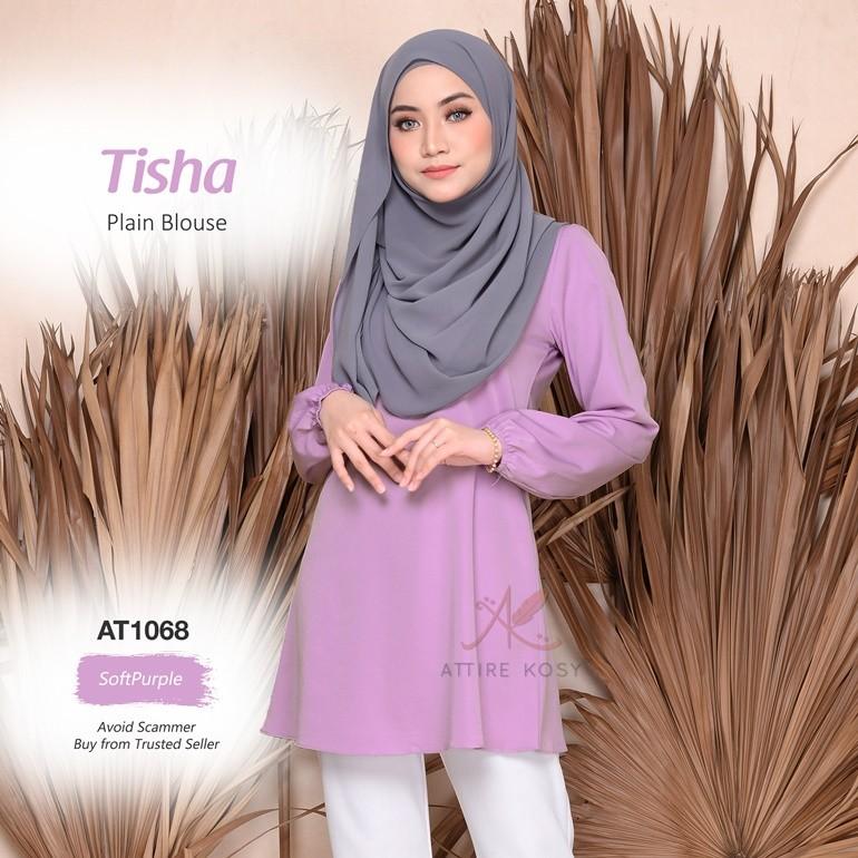 Tisha Plain Blouse AT1068 (SoftPurple)