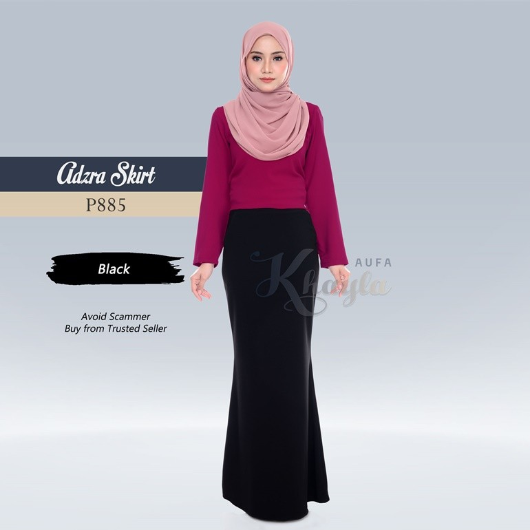 Adzra Skirt P885 (Black)