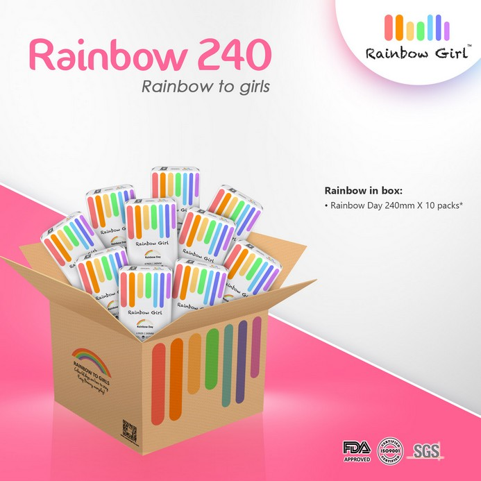 Rainbow 240 Box - 10 packs