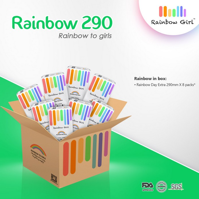 Rainbow 290 Box - 8 packs