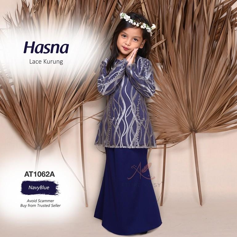 Hasna Lace Kurung AT1062A (NavyBlue)