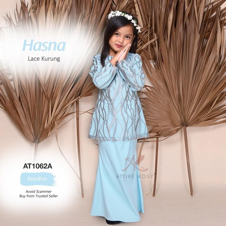 Hasna Lace Kurung AT1062A (BabyBlue)