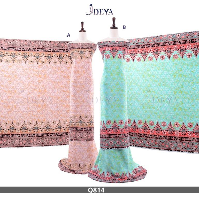 Qeesha Silk Q814 (4Meter)
