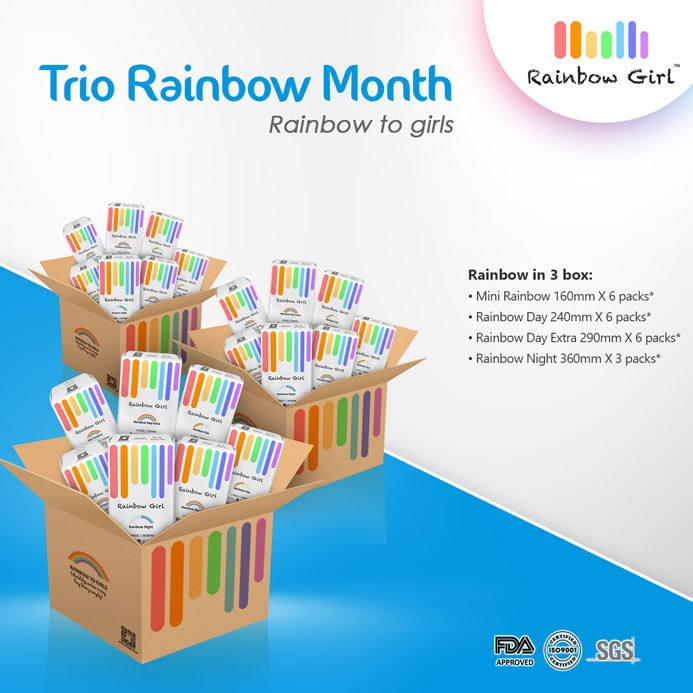 Trio Rainbow Month
