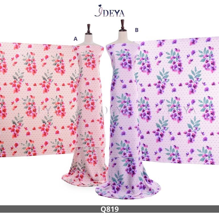 Qeesha Silk Q819 (4Meter)