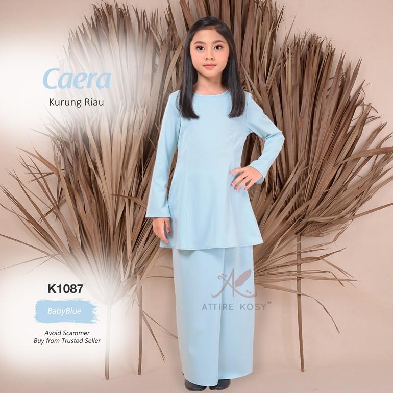 Caera Kurung Riau K1087 (BabyBlue)