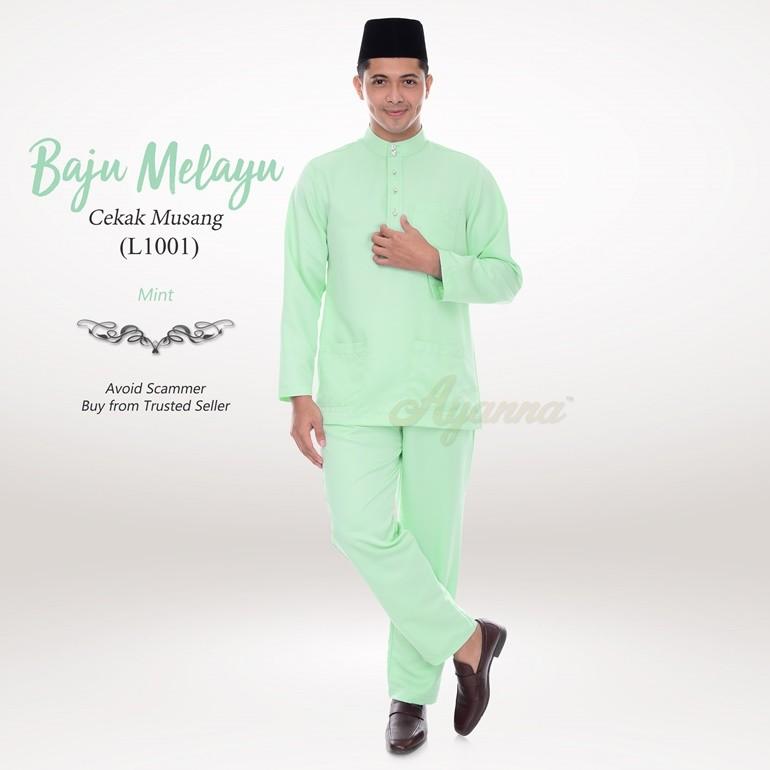 Baju Melayu Cekak Musang L1001 (Mint)