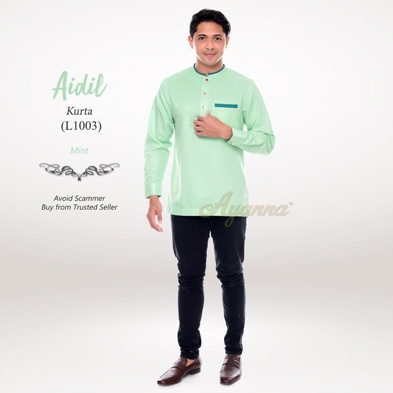 Aidil Kurta L1003 (Mint)
