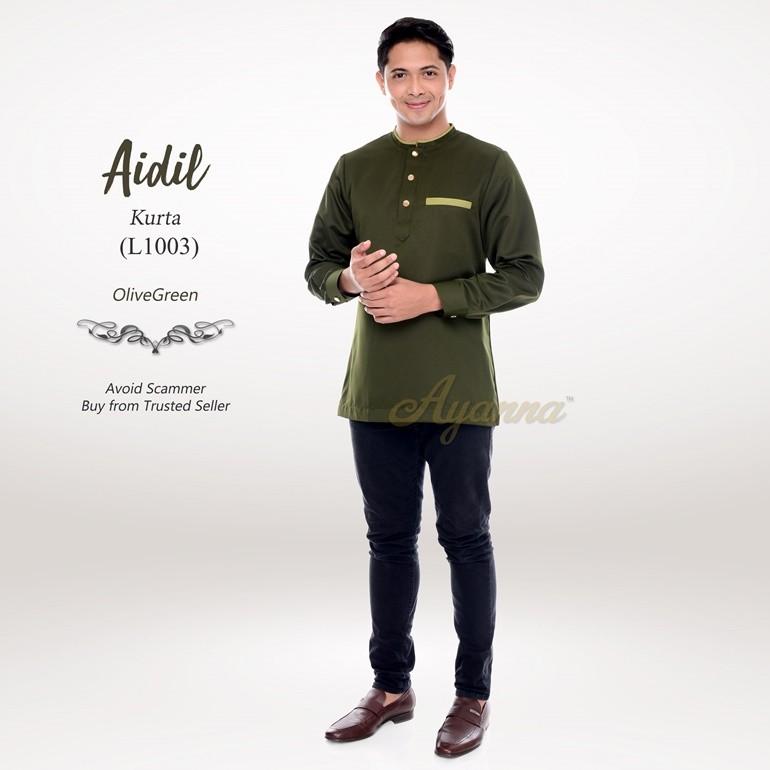Aidil Kurta L1003 (OliveGreen)