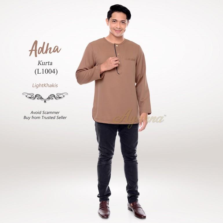Adha Kurta L1004 (LightKhakis)