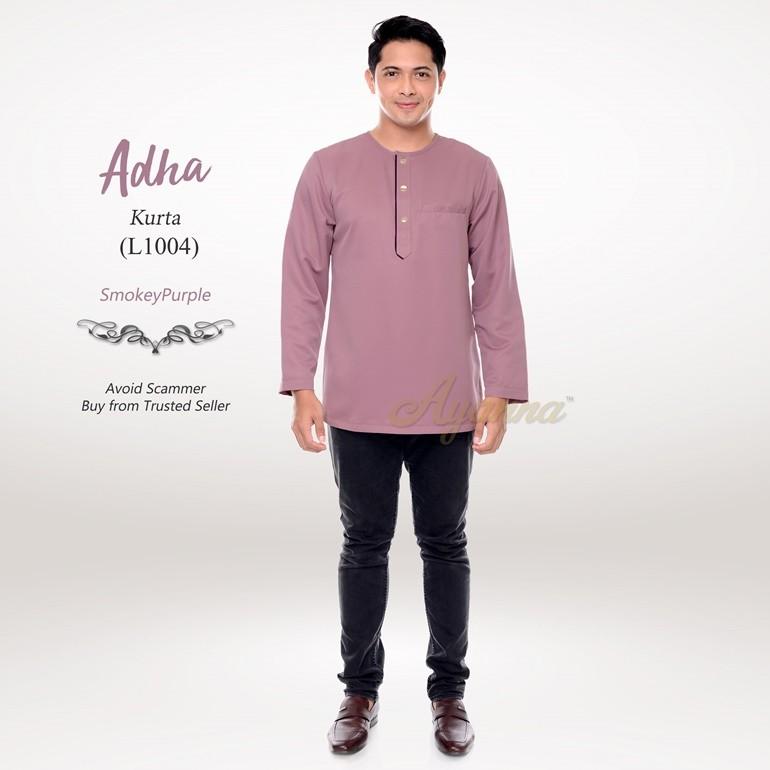 Adha Kurta L1004 (SmokeyPurple)