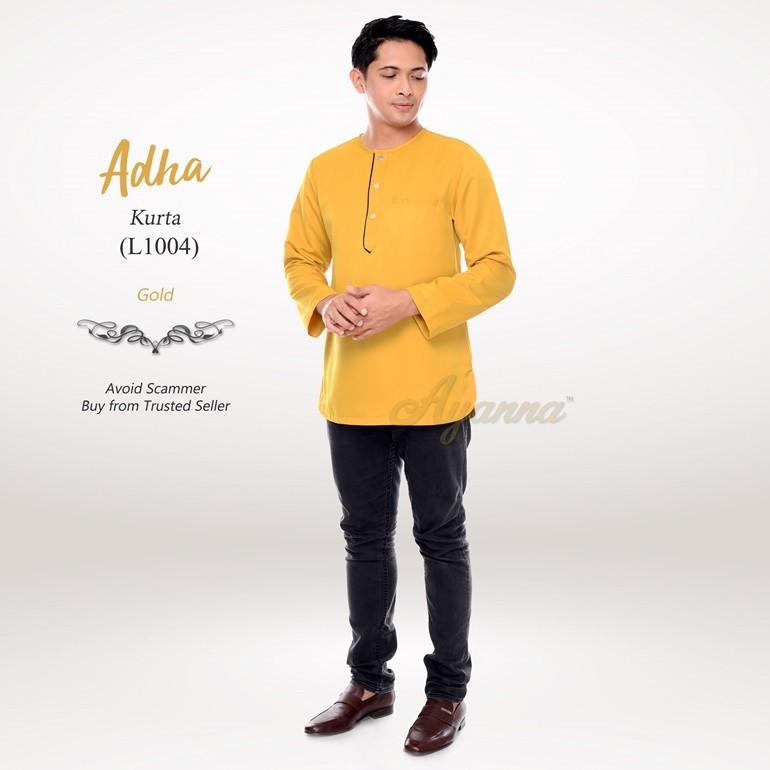 Adha Kurta L1004 (Gold)