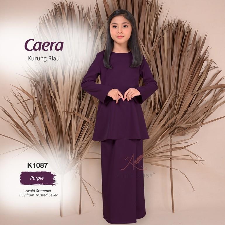 Caera Kurung Riau K1087 (Purple)