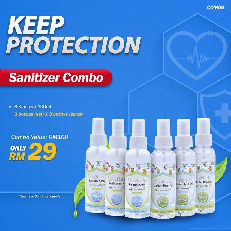 Vivid Life Combo Sanitizer (COM06)