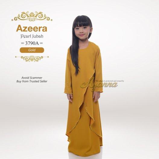Azeera Pearl Jubah 3790A (Gold)
