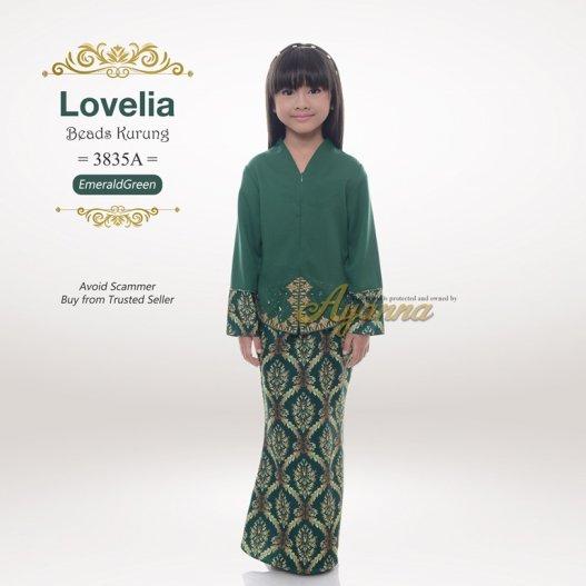 Lovelia Beads kurung 3835A (EmeraldGreen)
