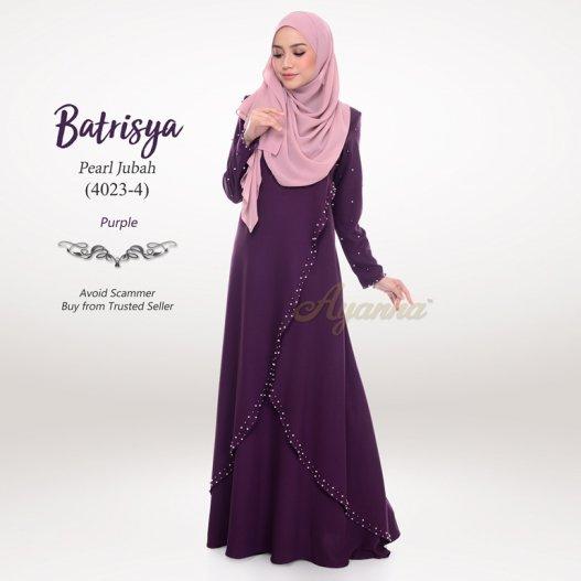 Batrisya Pearl Jubah 4023-4 (Purple)