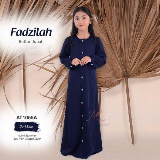 Fadzilah Button Jubah AT1055A (DarkBlue)