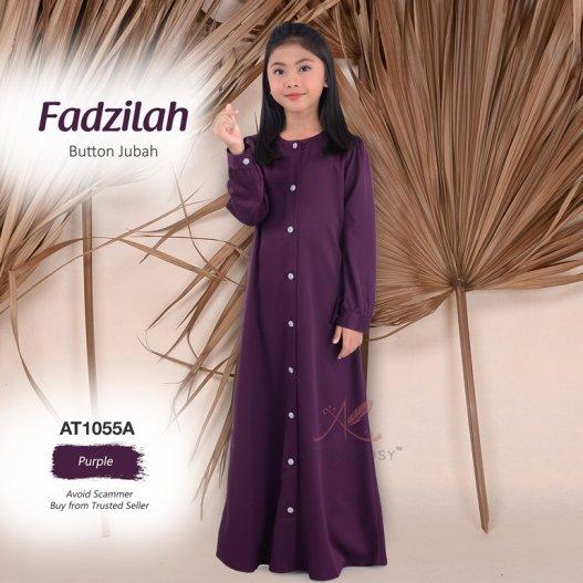 Fadzilah Button Jubah AT1055A (Purple)